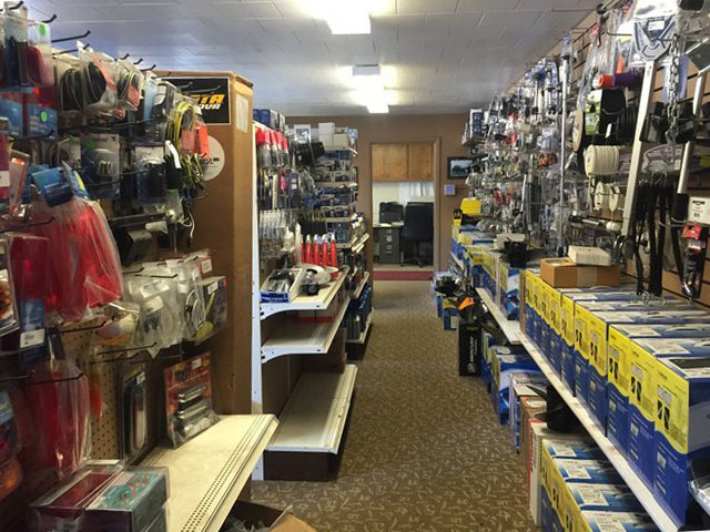 Parts Inventory at Kovash Marine